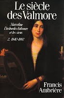 Francis Ambrière (1907-1998), Le siècle des Valmore - Tome 2 - Les Éditions du Seuil, 1987 - Biographie.