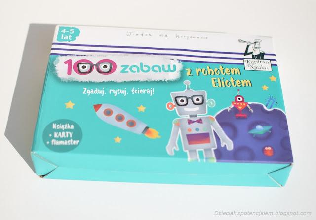 kapitan nauka karty obrazkowe 100 zabaw z robotem eliotem