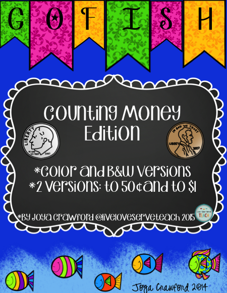 https://www.teacherspayteachers.com/Product/Money-Game-2187315