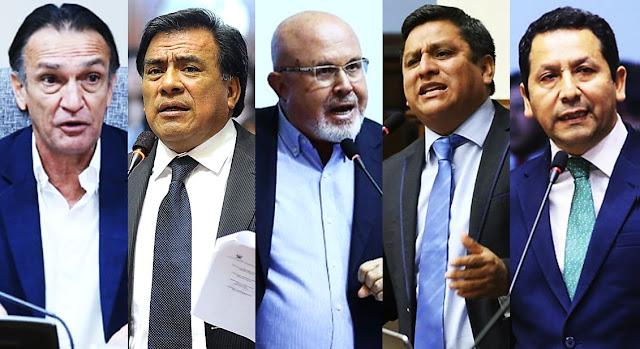 Fiscalía investiga a cinco congresistas por presuntos actos de corrupción en Chiclayo