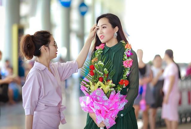 Loạt ảnh đẹp ngây ngất của hoa khôi áo dài Diệu Ngọc