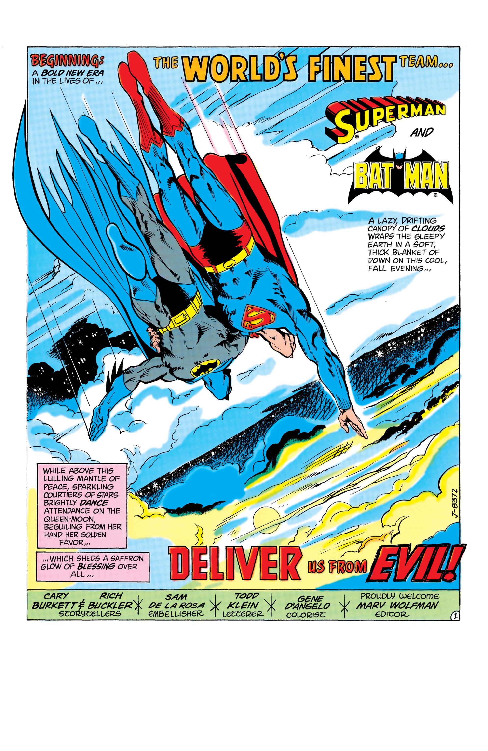 Read online World's Finest Comics comic -  Issue #285 - 2