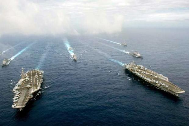 Amerika Serikat Kirim 2 Kapal Induk ke Filipina