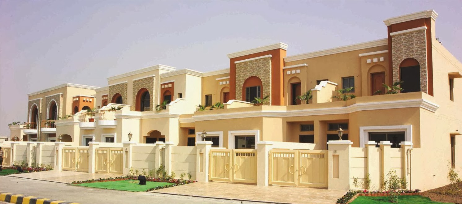 Home Design In Pakistan: Beautiful Eden Homes Lahore
