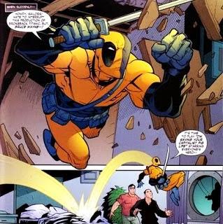 Deathstroke vs Deadpool en DC