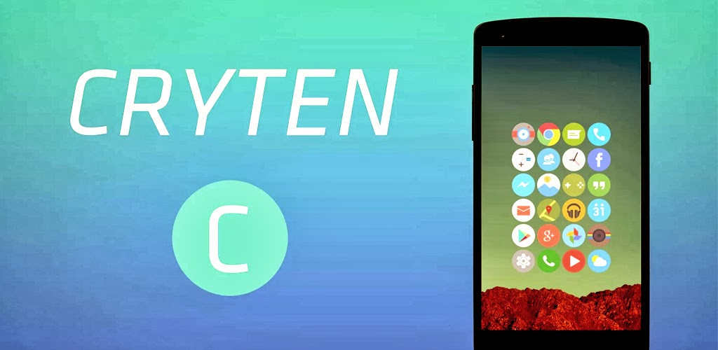 থিম- Cryten - Apex, Nova, Adw Theme সাপোর্টেড v1.2.0
