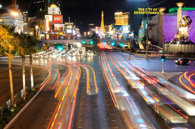 Aluguel do carro em Las Vegas