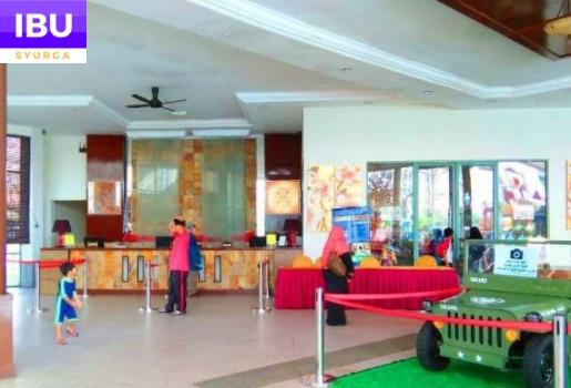 Gold Coast Melaka Resort lobby