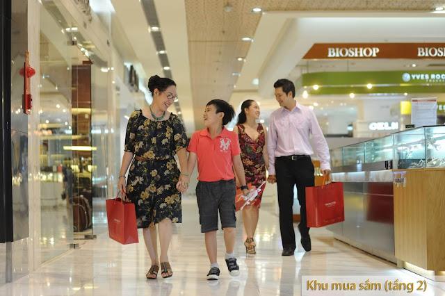 Trung tâm thương mại chung cư Lộc Ninh