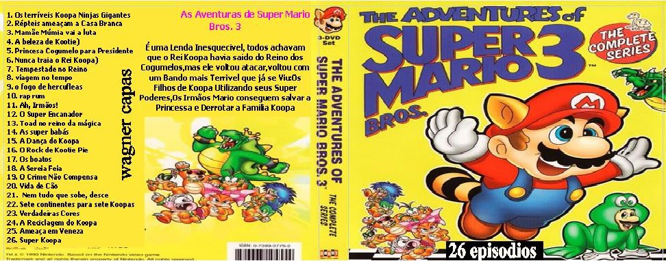 as aventuras de super mario bros 3 completo anima satsu