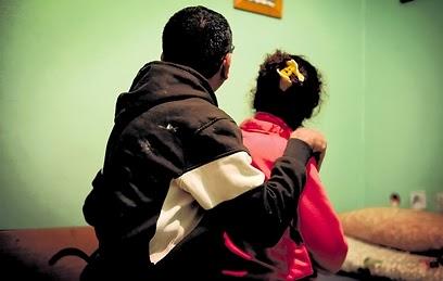 רוצים את הבנות חזרה בבית. ההורים (צילום: קובי קואנקס)