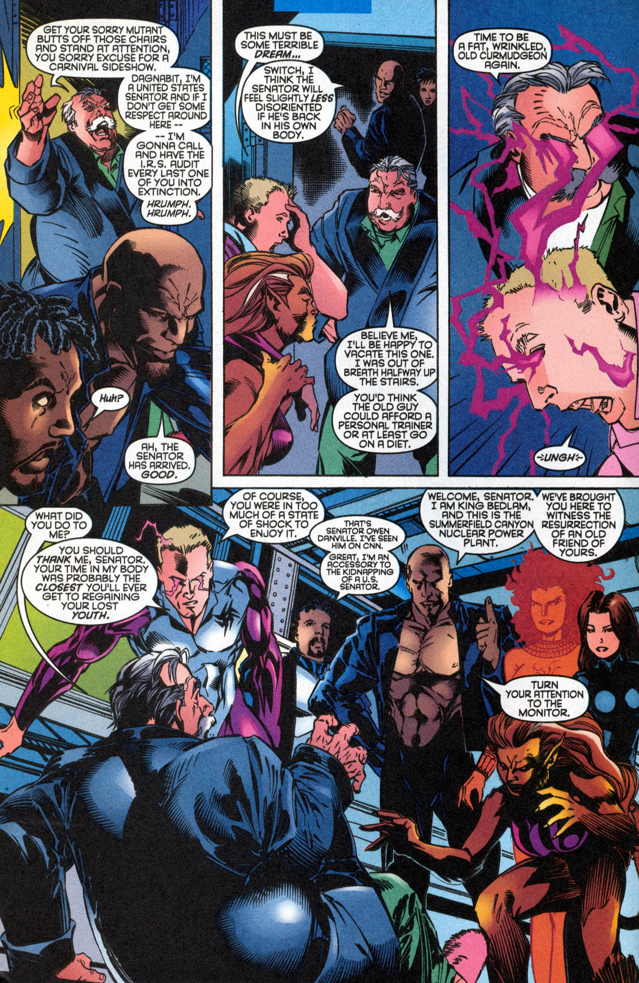 Read online X-Force (1991) comic -  Issue #89 - 16