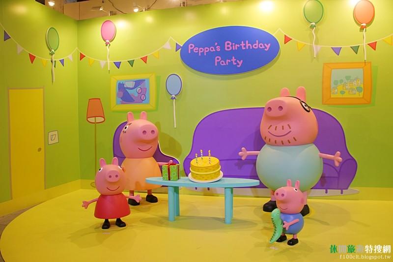 [臺灣.臺中] PEPPA PIG粉紅豬小妹超級互動展~期待佩佩豬在台中文創園區出現囉~