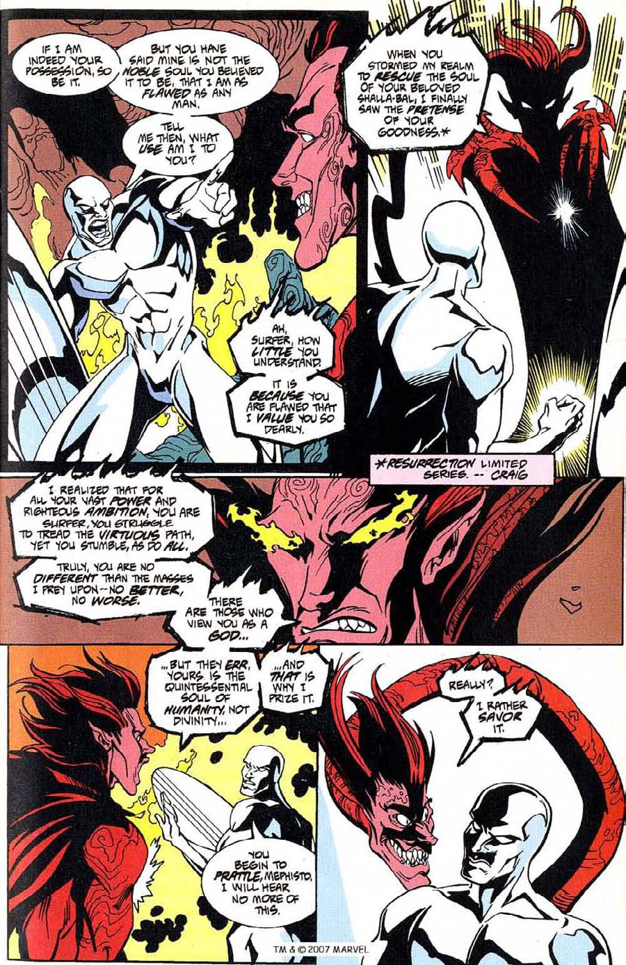 Read online Silver Surfer (1987) comic -  Issue #100 - 21