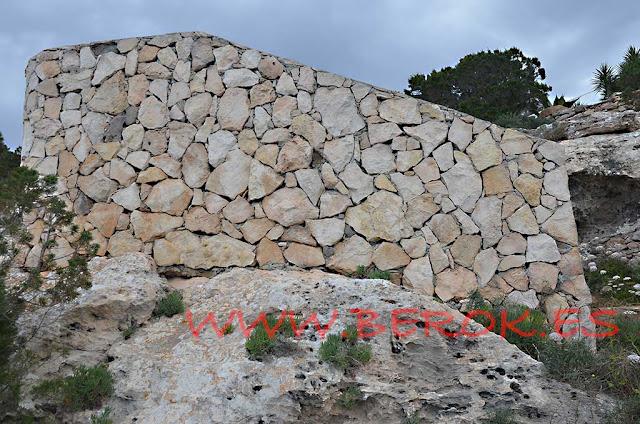 borrado de graffitis en piedra