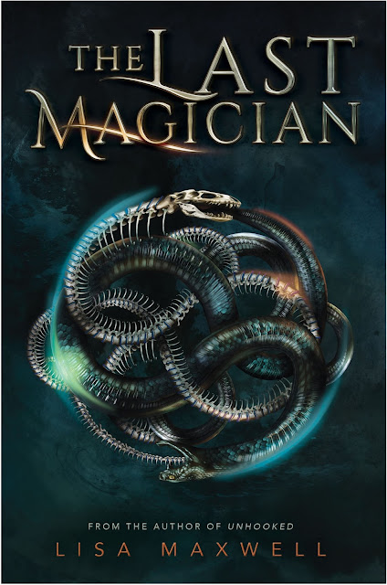 Beautiful 2017 Book Cover Designs  The Last Magician by Lisa Maxwell