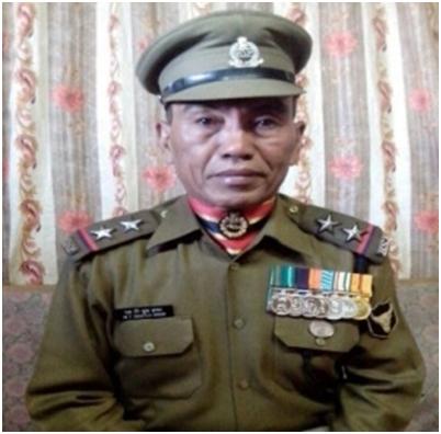 President Police Medal dawng ~ Pu Mangtinchung Hmar | VIRTHLI