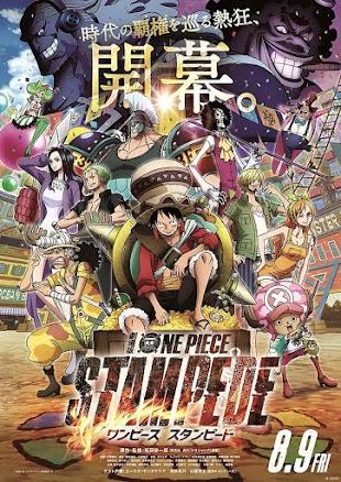 تقرير فيلم الانمي One Piece Movie 14: Stampede (فيلم ون بيس رقم 14: الهروب الجماعي)