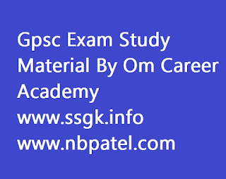 Gpsc Exam Study Material By Om Career Academy