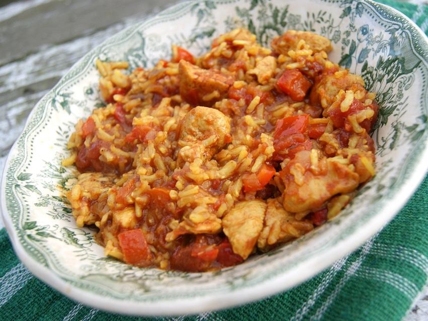 Jambalaya, czyli danie z ryżem jednogarnkowe