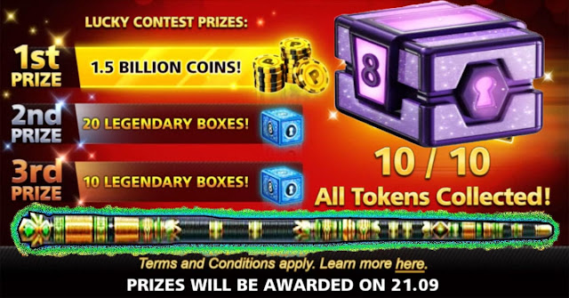 Get Avatar and 1.5 Billion and Legendary Boxes 8 ball pool Free
