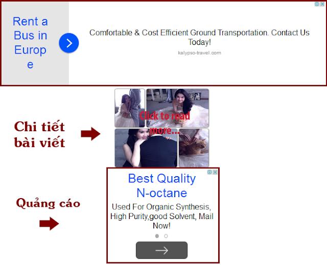 """Cách kiếm tiền mới của các website """"vịt"""" ở Việt Nam"""