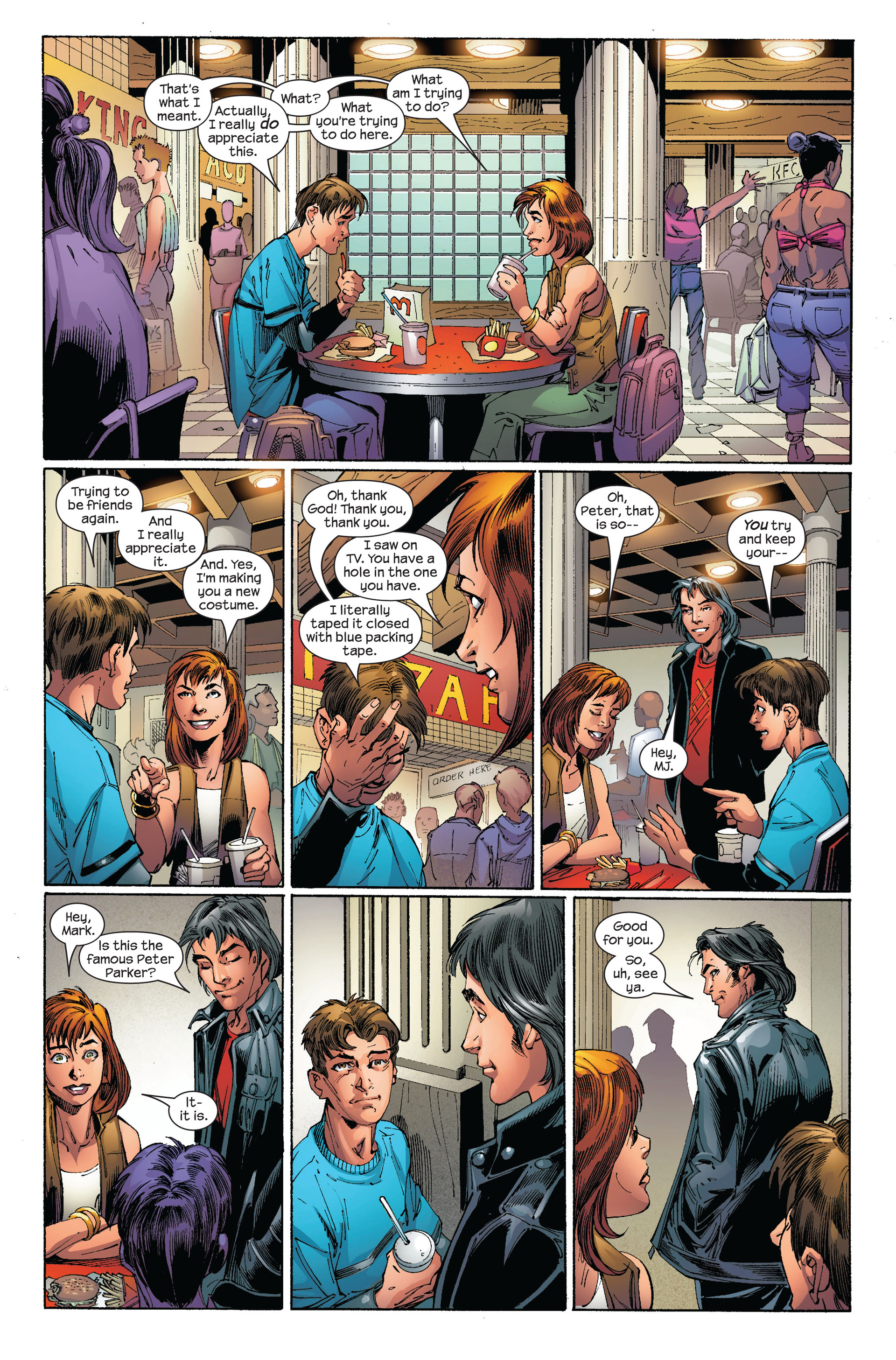 Read online Ultimate Spider-Man (2000) comic -  Issue #97 - 8