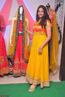 Pujitha in Yellow Ethnic Salawr Suit Stunning Beauty Darshakudu Movie actress Pujitha at a saree store Launch ~ Celebrities Galleries 048.jpg