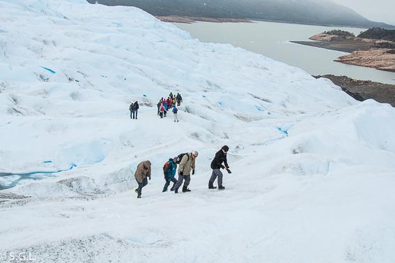 Minitrekking por el glaciar Perito Moreno. Argentina