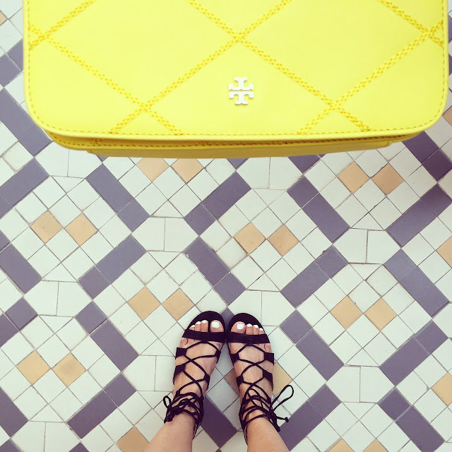 Tory burch bag, topshop lace up sandals, i have this thing with the floors, fashion blog, from where i stand