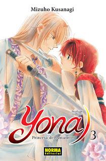 YONA, Princesa del amanecer 3