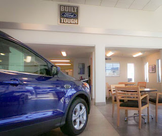 Gresham Ford Showroom
