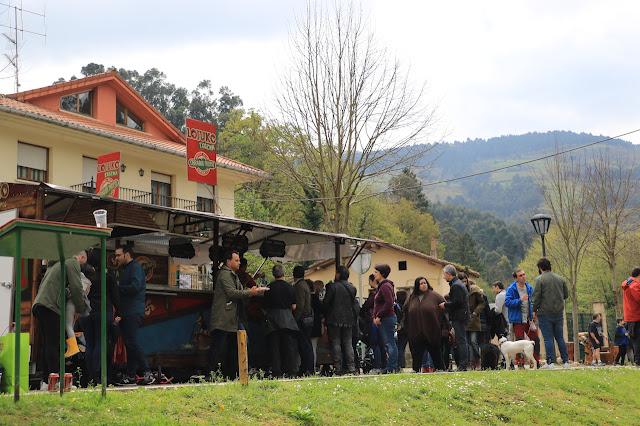 romería en Gorostiza contra la VSF
