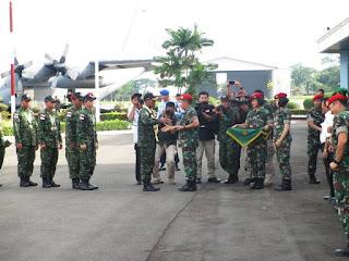 Kontingen TNI AD AARM ke-26