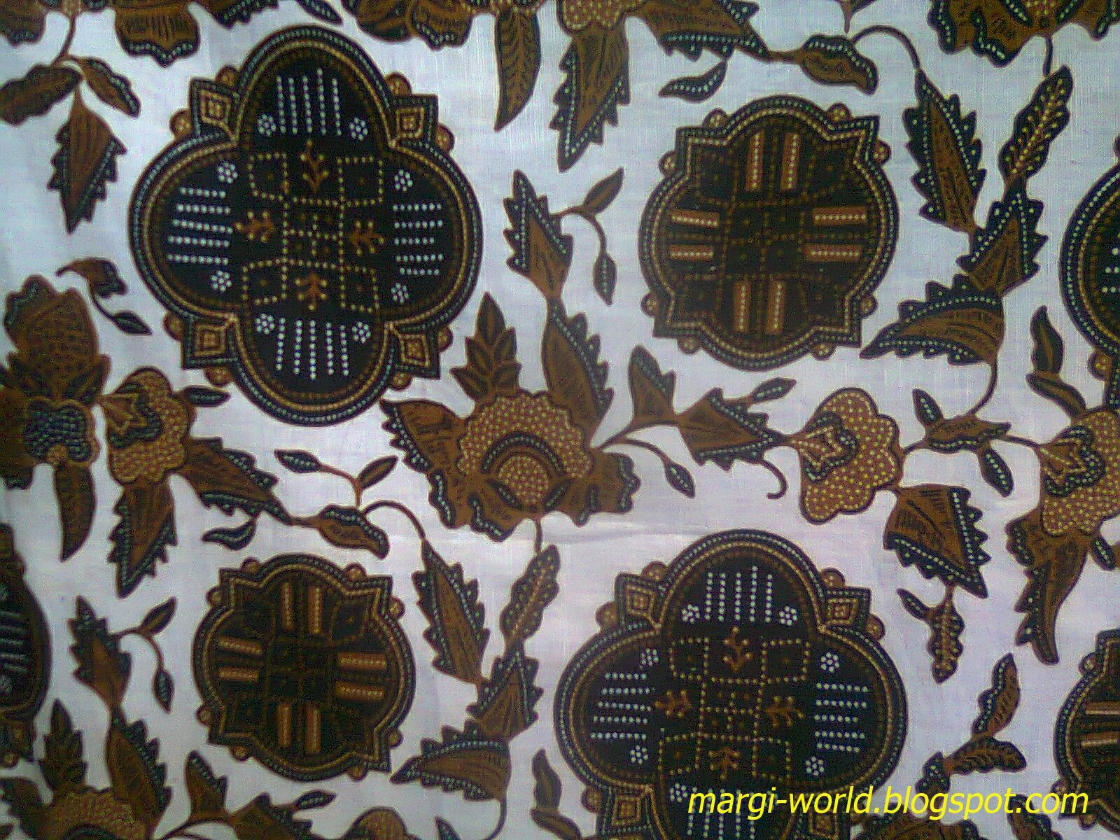 Contoh gambar batik tradisional sebagai inspirasi wallpaper
