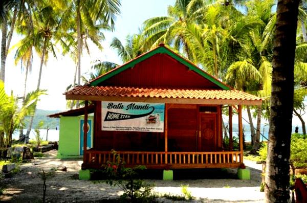 home stay di pulau pisang