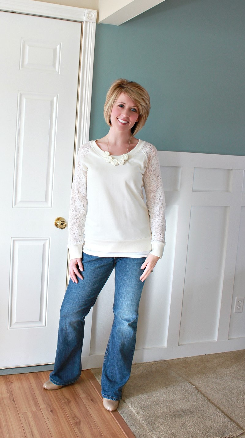 a113ff17d8 What I Wore Wednesday & A New Do! - Love of Family & Home