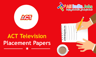 ACT Television Placement Papers