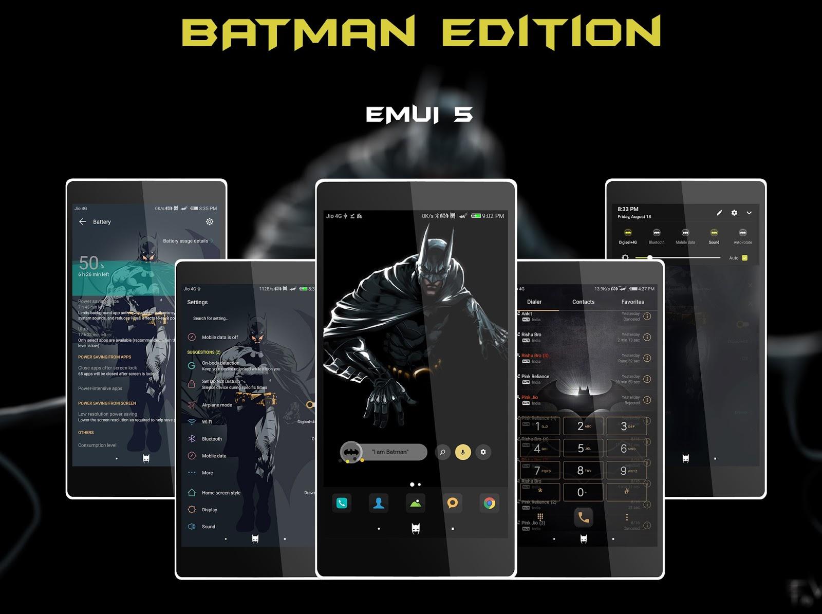 Injustice Edition || EMUI 5 THEME - Emui Themes