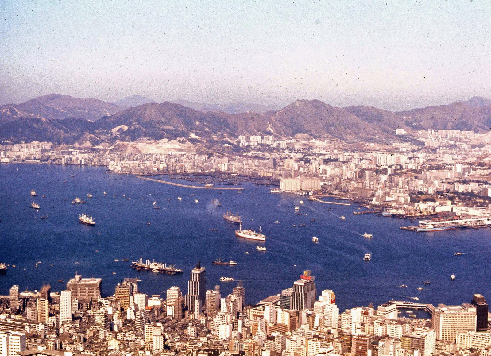 Hong Kong Harbor 1969