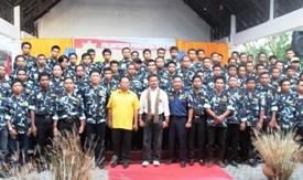 SYL ,Hadiri ,Pengukuhan, Pengurus, DPD II Ampi, Selayar ,2012-2017