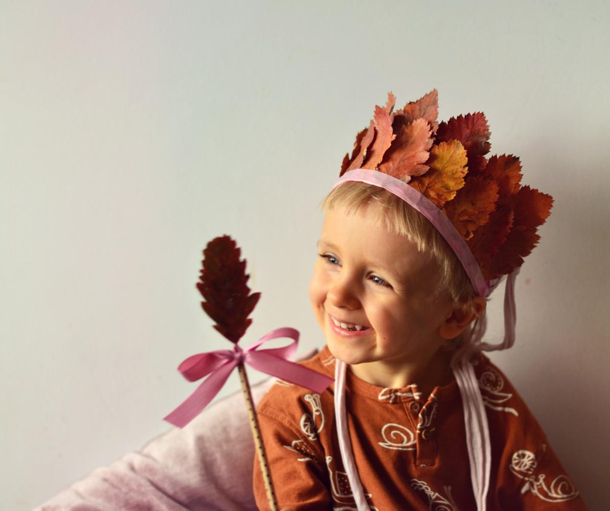 DIY: słowiańska korona Pani Jesieni