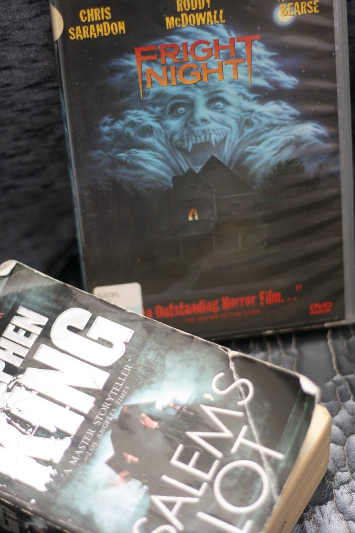 Fright Night and 'Salem's Lot for October's All Vampire Book and a Movie Challenge