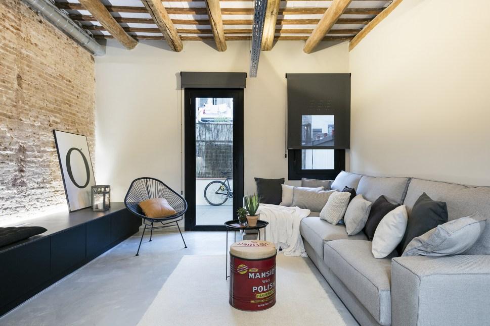 decordemon New York style loft in Barcelona