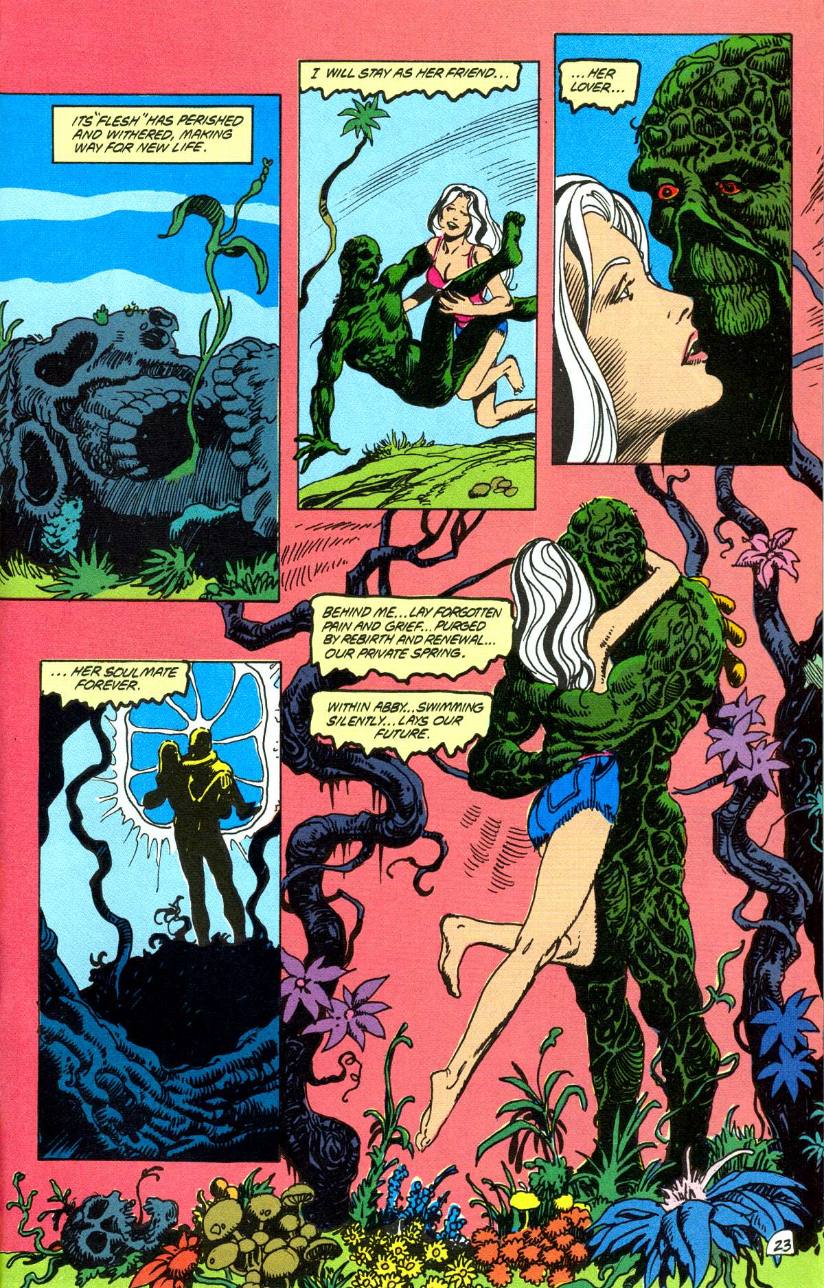 Swamp Thing (1982) Issue #78 #86 - English 24