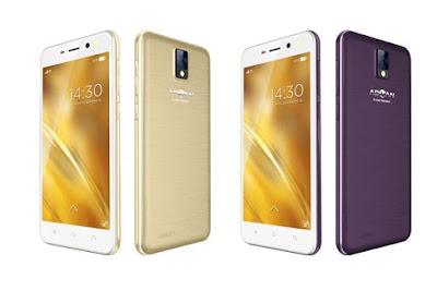 Advan Glassy Gold 2 i5e, 16 Handphone 4G Harga 1 Jutaan