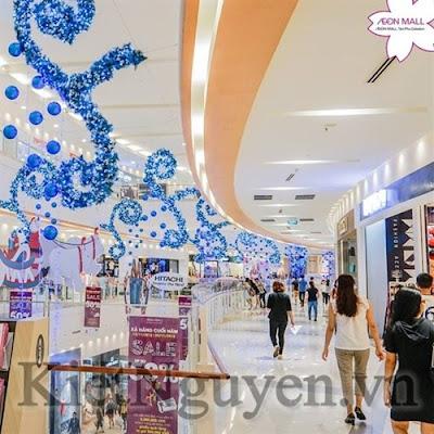 Giáng Sinh tại Trung tâm thương mại Aeon Mall mùa Giáng Sinh
