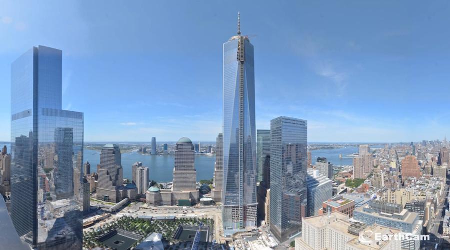 ワンワールドトレードセンターが現在の高さになるまでを高速で記録した動画■ワンワールドトレードセンタービルが完成するまでの記録。