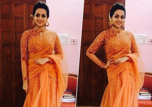 Actress Bhavana Engagement Photos