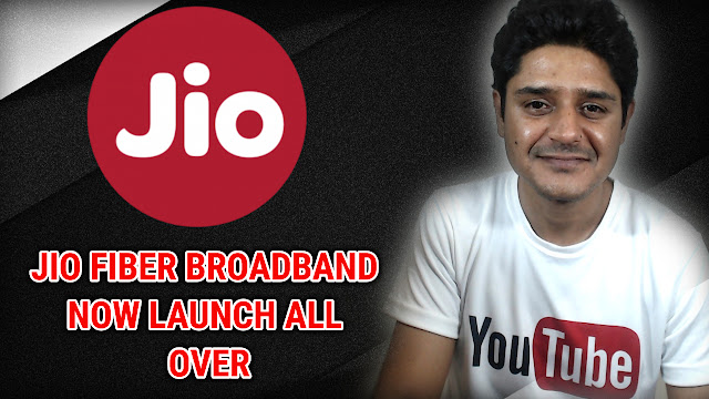 Jio fiber giga broadband plans with 100 mbps speed and three month free